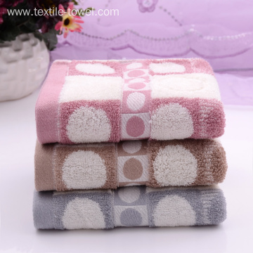 Comfortable Towels on Sale with Bubble Pattern